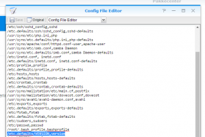 ConfigFileEditor-synology-version